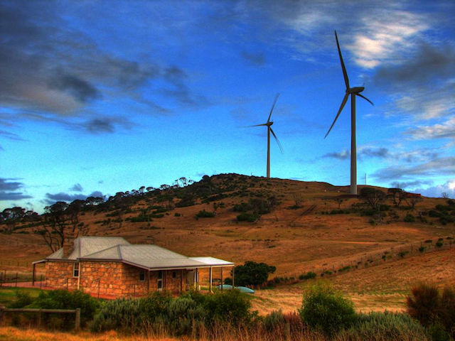 Cape Bridgewater wind turbines
