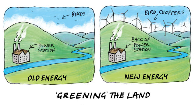 'Greening' the land