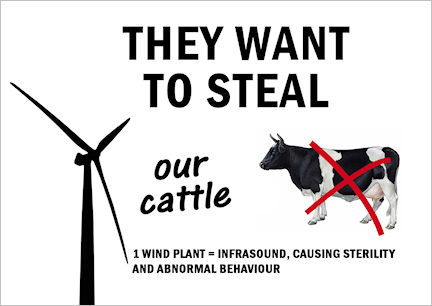 They want to steal our cattle