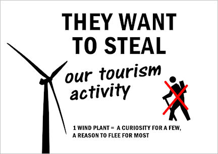 They want to steal our tourism activity