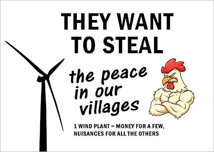They want to steal the peace in our villages