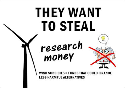 They want to steal research money