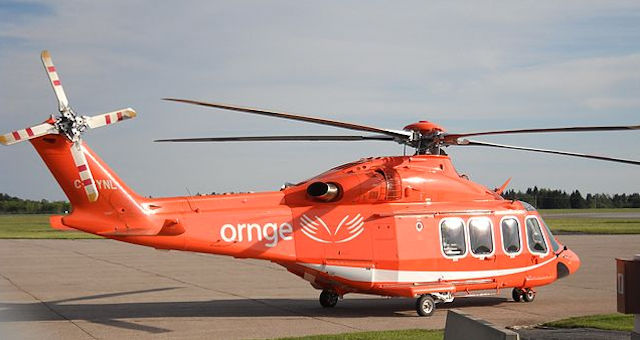 Ornge helicopter air ambulance
